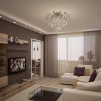 вариант яркого интерьера квартиры 65 кв.м фото