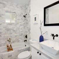 вариант необычного интерьера ванной комнаты 5 кв.м картинка