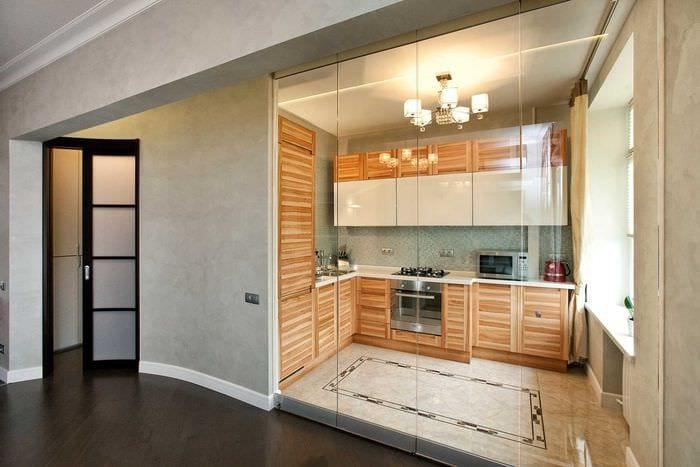вариант яркого декора современной квартиры 50 кв.м