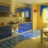 пример красивого дизайна современной квартиры 65 кв.м картинка