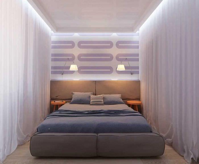 пример светлого интерьера квартиры 50 кв.м