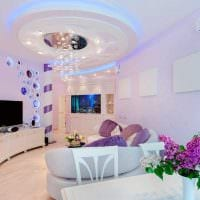 пример светлого интерьера гостиной 19-20 кв.м картинка