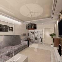 пример необычного дизайна современной квартиры 65 кв.м картинка