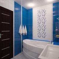вариант красивого дизайна ванной комнаты 5 кв.м картинка