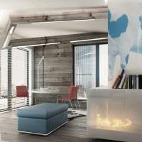 пример красивого декора гостиной комнаты в стиле минимализм фото