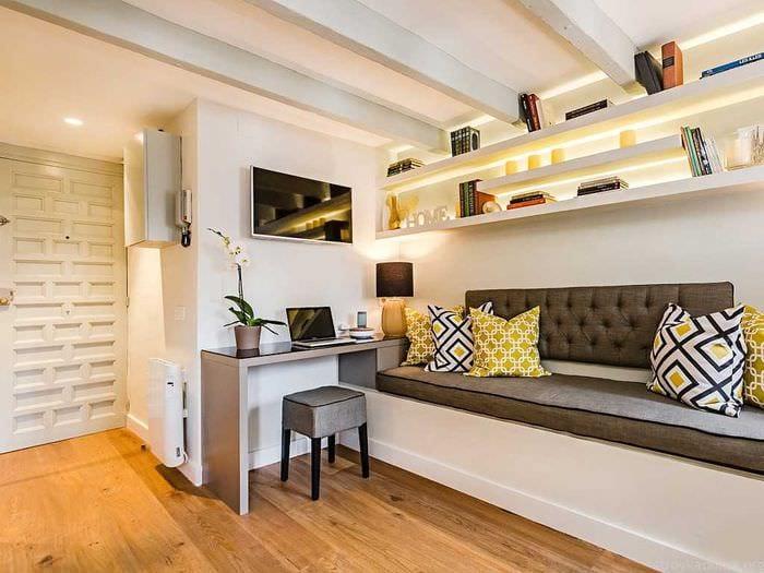 Идеи для маленьких квартир своими руками 22