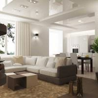 пример необычного дизайна квартиры 65 кв.м картинка