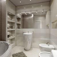 пример светлого стиля ванной комнаты 5 кв.м картинка