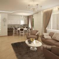 пример необычного стиля гостиной комнаты 25 кв.м фото