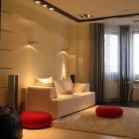 пример красивого стиля гостиной комнаты 19-20 кв.м фото