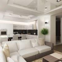 пример яркого интерьера гостиной комнаты 19-20 кв.м фото