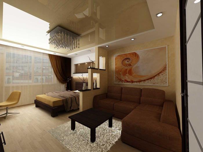 Дизайн комнат 20 квадратов фото