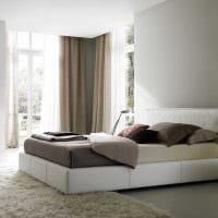 вариант яркого дизайна квартиры в светлых тонах в современном стиле картинка