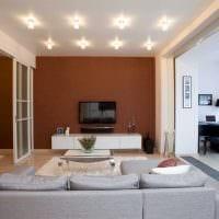 идея красивого интерьера современной квартиры 70 кв.м картинка