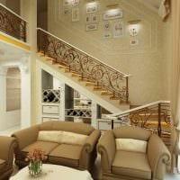 идея яркого дизайна дома со вторым светом картинка