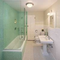 идея необычного дизайна ванной комнаты 2017 фото