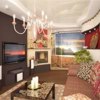 пример красивого дизайна гостиной комнаты 16 кв.м картинка
