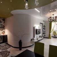 пример светлого декора современной квартиры 50 кв.м фото