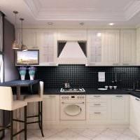 вариант красивого декора квартиры в светлых тонах в современном стиле фото