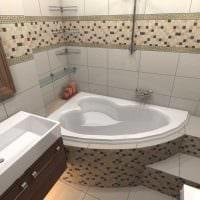 вариант необычного интерьера ванной комнаты 2.5 кв.м картинка