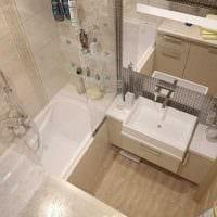 идея необычного стиля ванной комнаты 4 кв.м фото
