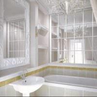 вариант светлого дизайна ванной 5 кв.м фото