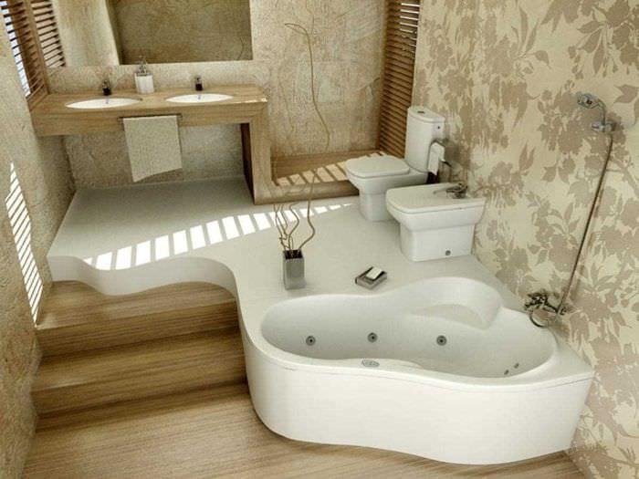 Угловая ванна своими руками фото 427