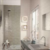 вариант необычного интерьера большой ванной картинка