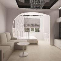 пример яркого стиля гостиной комнаты 16 кв.м фото