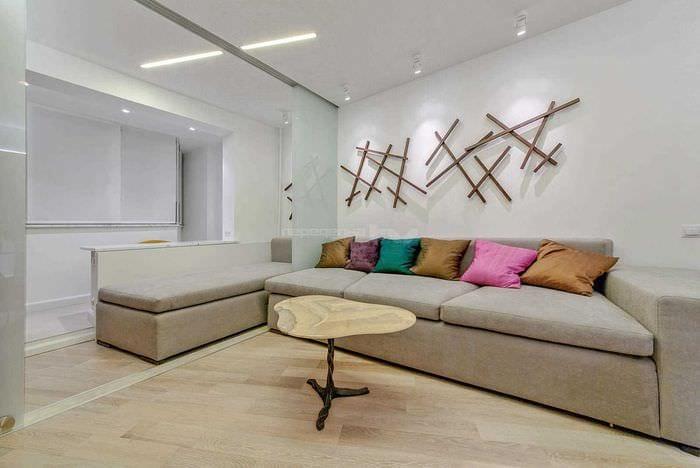 75 идей создания современного дизайна гостиной комнаты.