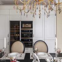 идея светлого стиля квартиры в стиле современная классика фото
