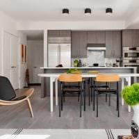идея светлого декора квартиры в светлых тонах в современном стиле фото