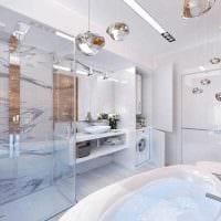 идея необычного интерьера ванной 4 кв.м картинка