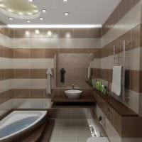 вариант необычного интерьера ванной комнаты 6 кв.м картинка