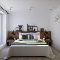 вариант красивого интерьера комнаты в светлых тонах в современном стиле картинка