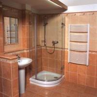 идея красивого интерьера ванной 6 кв.м картинка