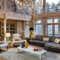 идея яркого дизайна дома со вторым светом фото