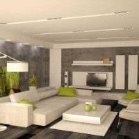 пример необычного интерьера гостиной в стиле минимализм картинка