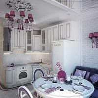 пример яркого декора квартиры 50 кв.м фото