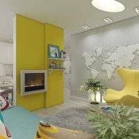 вариант необычного декора квартиры 70 кв.м фото