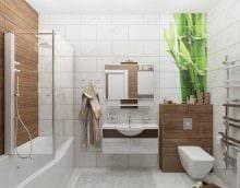 идея необычного дизайна ванной комнаты 6 кв.м фото