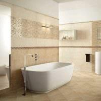 вариант красивого интерьера ванной 2.5 кв.м фото