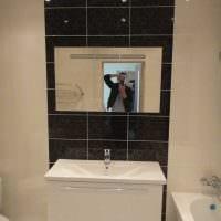 идея яркого интерьера ванной комнаты 2017 картинка