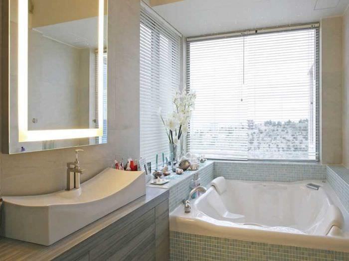 Окно в ванной частный дом размеры