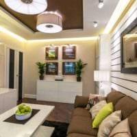 пример красивого дизайна гостиной комнаты 25 кв.м картинка