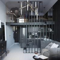пример необычного интерьера гостиной 16 кв.м картинка