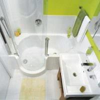 идея необычного стиля ванной 3 кв.м картинка