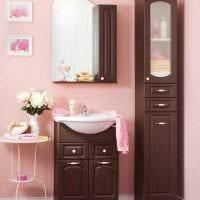вариант сочетания яркого коричневого цвета в стиле спальни фото