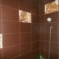 идея сочетания насыщенного коричневого цвета в стиле гостиной картинка