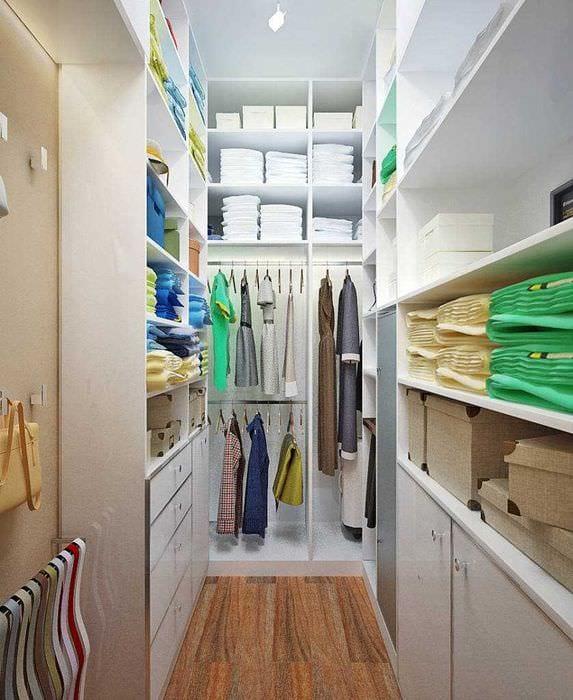 Как сделать гардеробную: планировка и наполнение 86